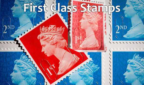 First Class Stamp Cost